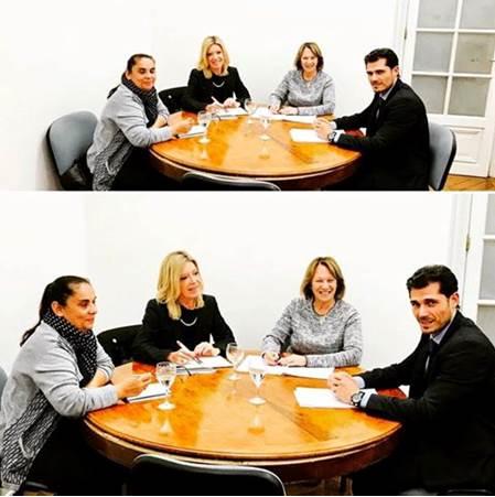 Reuni N En El Ministerio De Relaciones Exteriores Upacp